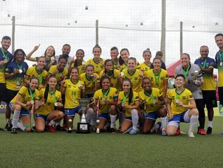Seleção Feminina conquista título inédito ao vencer a Copa América de Futebol 7