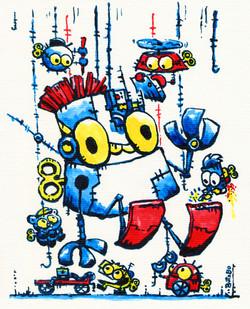 'Germinaciones Robóticas'