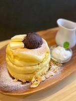 あんバターパンケーキ ※日によりメニュー内容は異なります