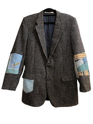 blazer laine & patchwork