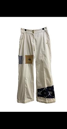 pantalon flare Adidas vintage