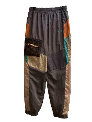 jogging Adidas vintage velours & tweed
