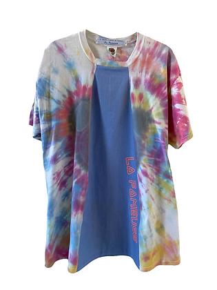 teeshirt Tye & Dye pastel