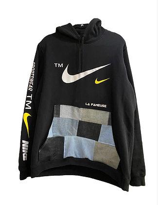 hoodie Nike & patchwork jeans