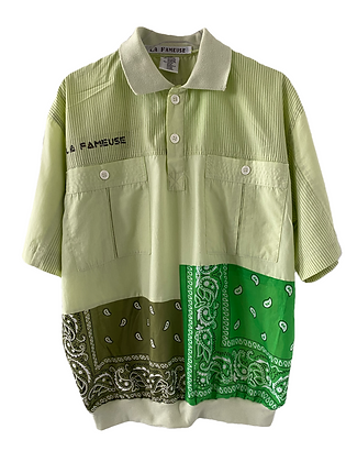polo chemise C&A 80's