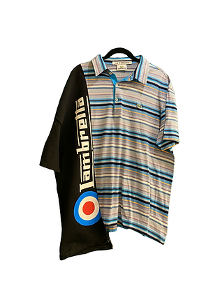 polo mix shirt Lambretta