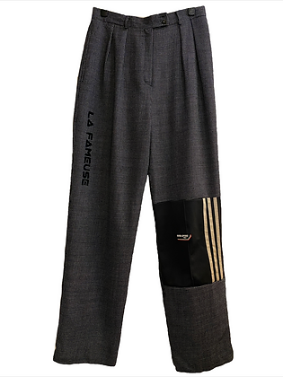 pantalon laine mix Adidas