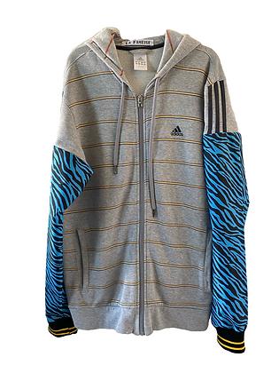 gilet sweat Adidas vintage