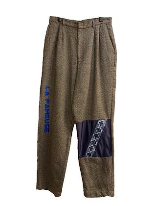 pantalon laine & Fila