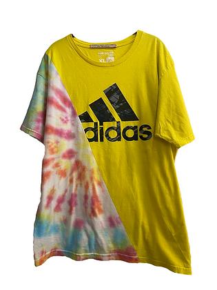 teeshirt bi-goût Adidas vintage