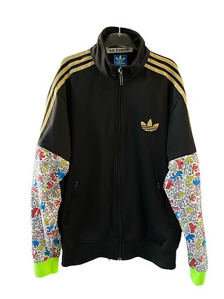 trackjacket Adidas noir&or