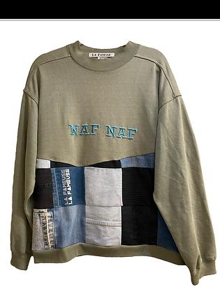 sweat vintage Naf Naf & jeans