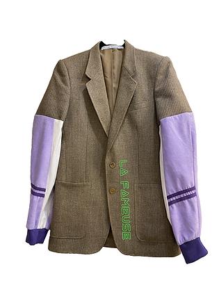 blazer mix laine