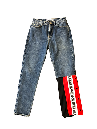 jeans Mom Blue Deck USA