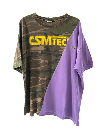 teeshirt bi-goût camouflage