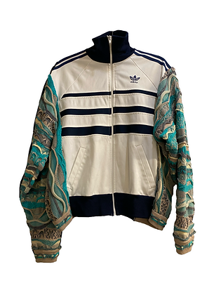 trackjacket Adidas & maille Coogi style