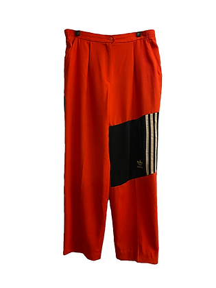 pantalon vintage rouge