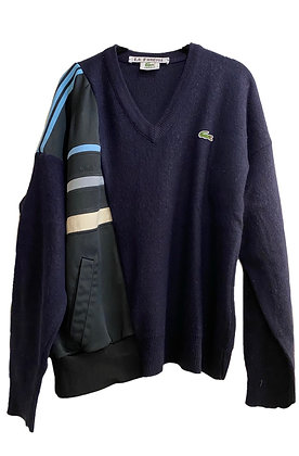 pull mix Lacoste x Adidas
