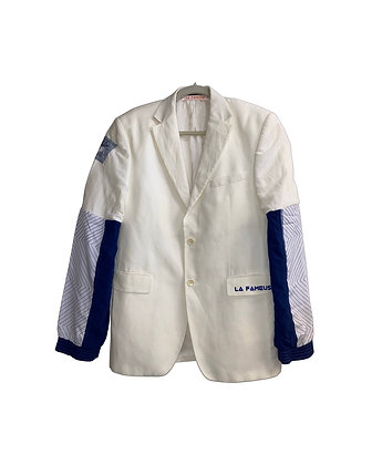 Costume blanc remix sportswear