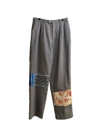 pantalon lainage & empiècements sport