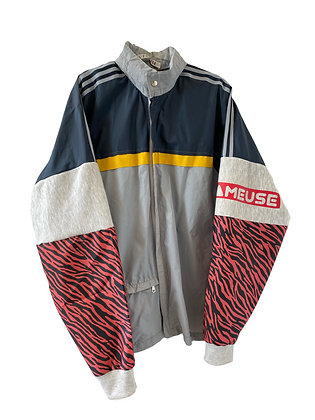 blouson imperméable Adidas vintage