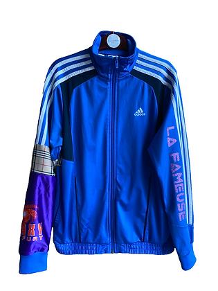 trackjacket vintage Adidas bleue