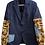 Thumbnail: blazer laine mix polaire