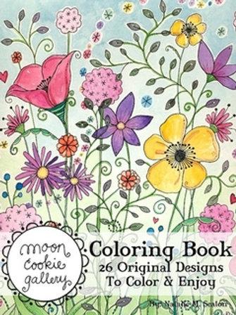 Moon Cookie Gallery Coloring Book #1