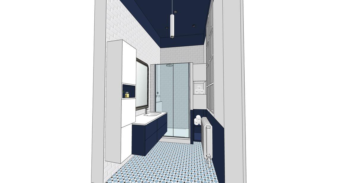 Rénovation Salle de bain ancienne Nantes