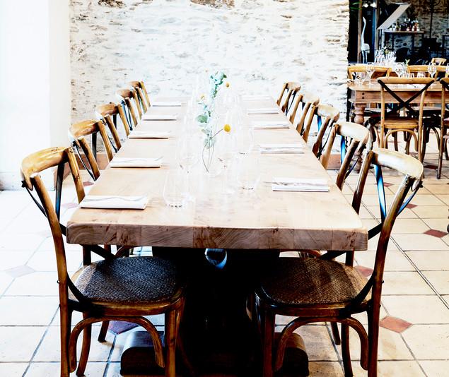 TIPHAINE MODIN | Architecte et decoration d'interieur | Nantes | Renovation restaurant La Fontaine aux bretons Pornic