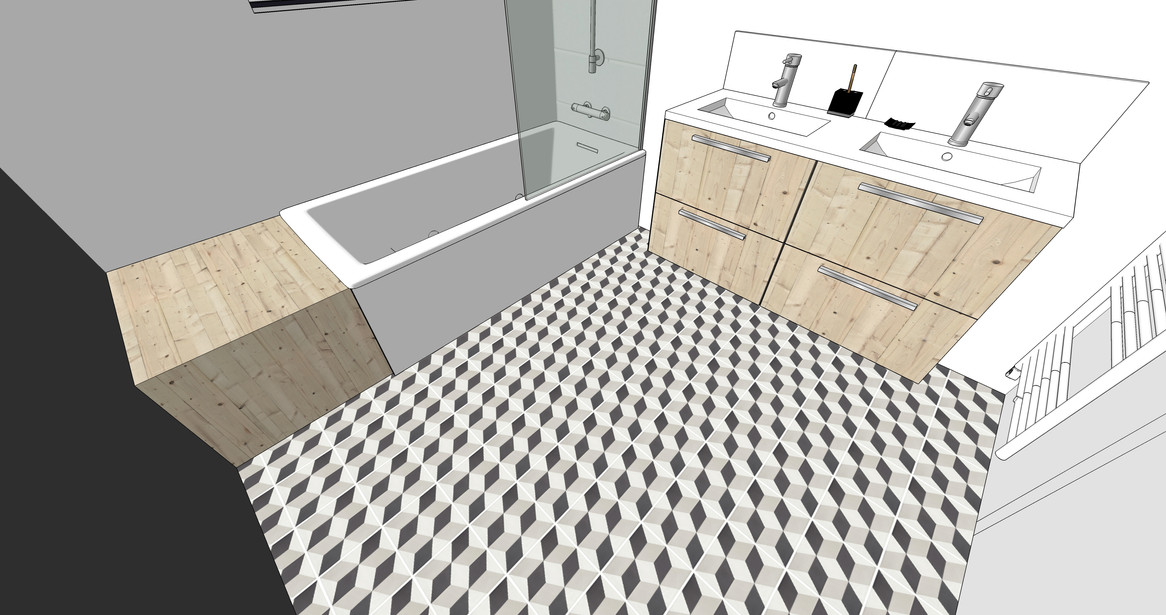 Salle de bain à Nantes