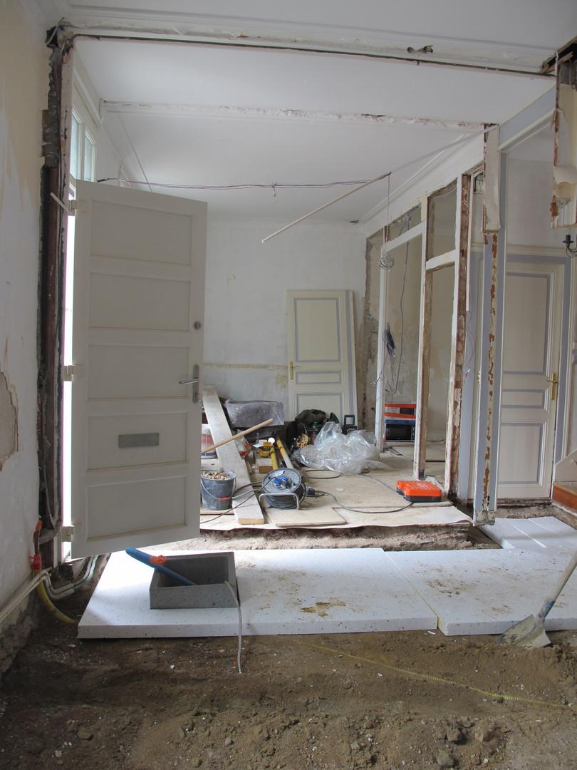 Rénovation maison nantaise