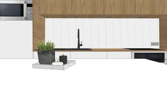 TIPHAINE MODIN | Architecte et decoration d'interieur | Nantes | Renovation maison ancienne | Visualisation 3D