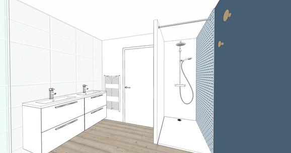 Salle de bain neuve à Nantes