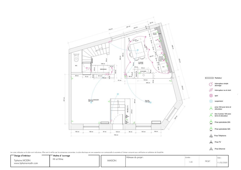 TIPHAINE MODIN | Architecte et décoration d'interieur | Nantes | Renovation maison ancienne