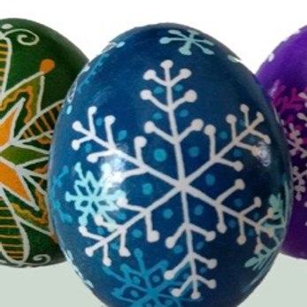 Pysanky Egg Painting Ornament Workshop