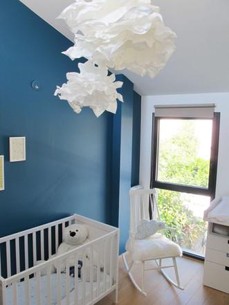 TIPHAINE MODIN | Architecte et decoration d'interieur | Nantes | Chambre d'enfant garçon et escalier pas japonais