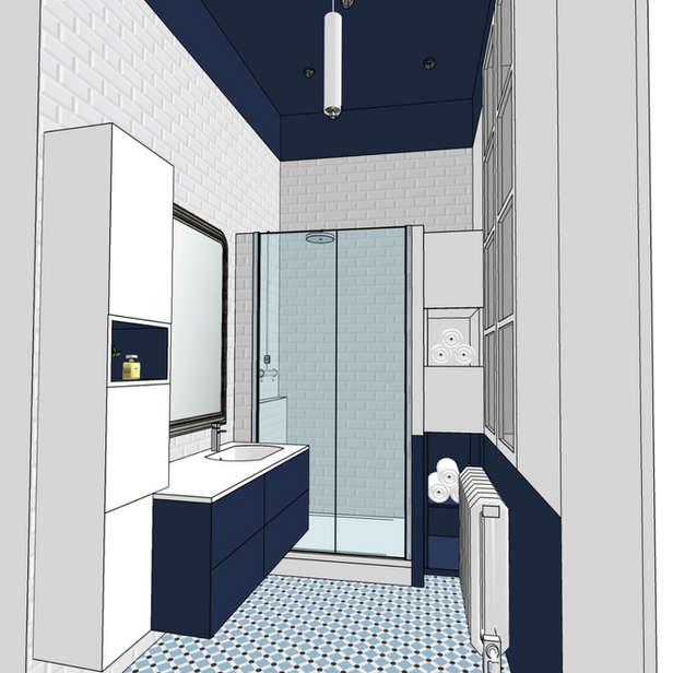 Rénovation salle de bain appartement ancien