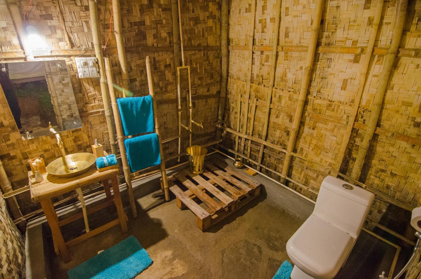 Hushnest x Jangalia bamboo Washrooms