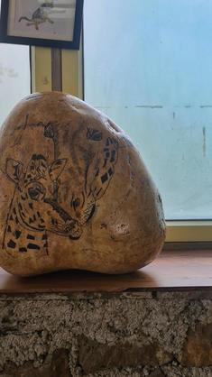 River Stone Art by Depi