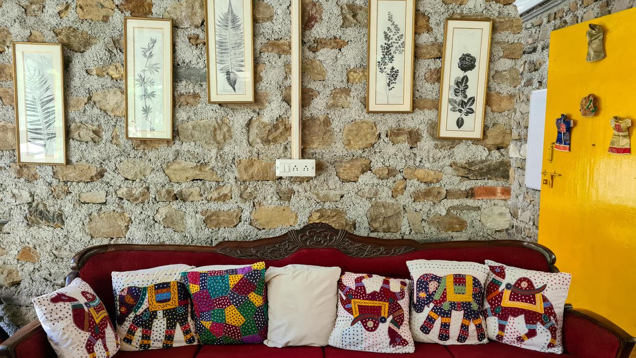 The Sofa and Art