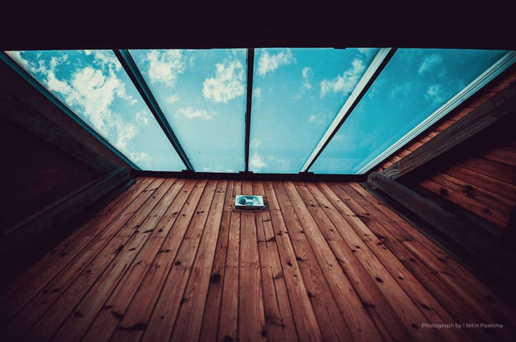Hushstay x Woodhouse Glass Roof