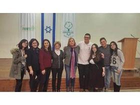 מארגני האירוע צילום: עיריית רעננה יום השואה הבינלאומי צוין באירוע מרגש במעמד שורדי שואה מרעננה וכפר סבא