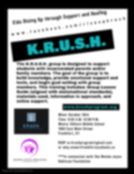 KRUSH flyer WJRF - Made with PosterMyWal
