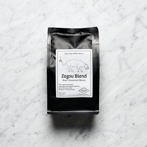 COFFEEBEANS ZAZOU BLEND-SLOW ROASTED