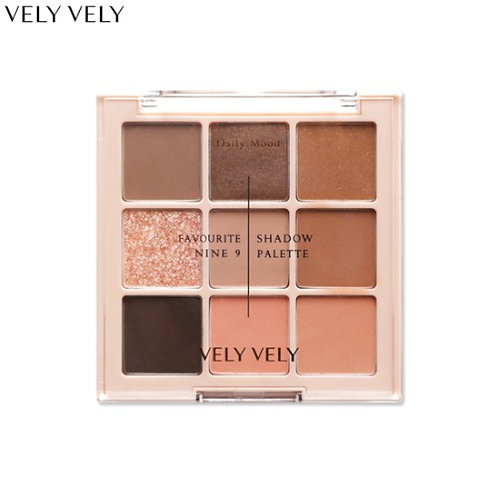 VELY VELY FAVOURITE 9 SHADOW PALETTE九宮格眼影盤