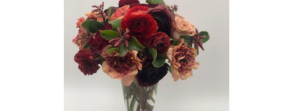 Weekly Seasonal Box of Flowers