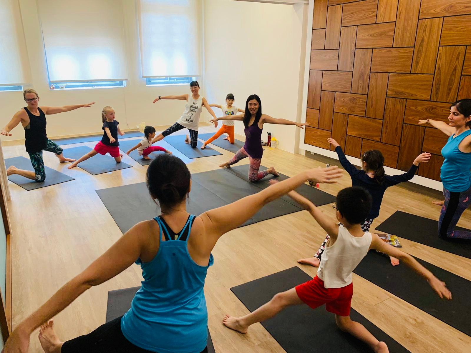 Online Family Yoga Class