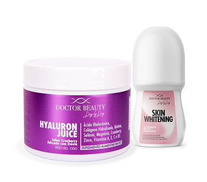 Combo Hyaluron Juice e Skin Whitening