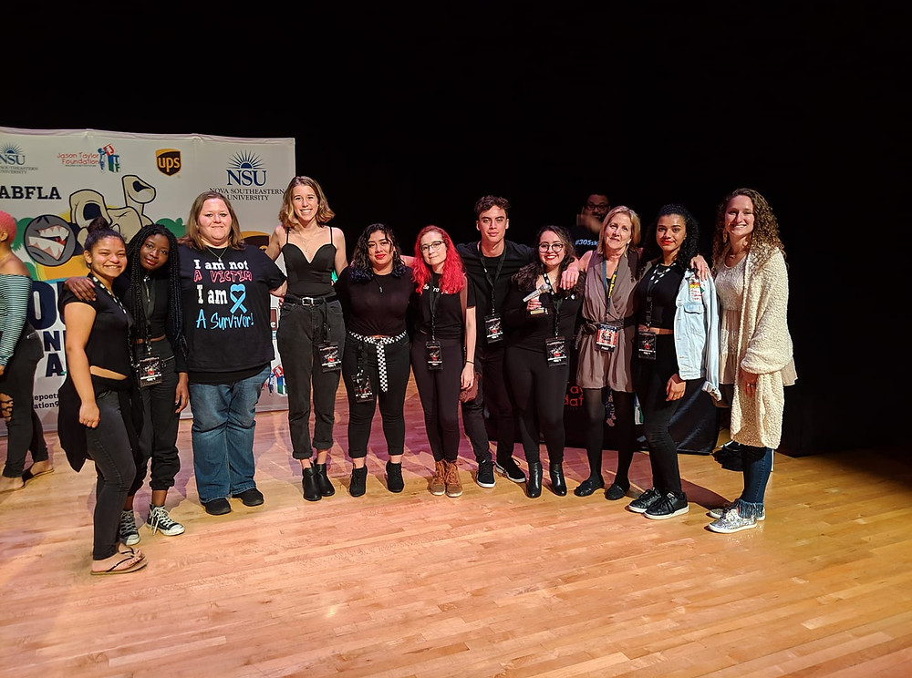 Boca Raton Student Poets at Louder Than A Bomb Competition